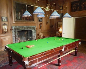 Avebury Manor House - Billiard Room