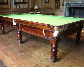 Avebury Manor House - Billiard Table